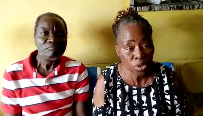 Mr and Mrs Adeoye were stunned when DSS and police stormed their property on Egbe road, Ejigbo, Lagos