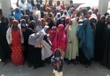 Muslim faithful attending Christmas Church service in Kaduna