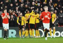 Nigel Pearson's Watford beat Manchester United 2-0 to boost their survival chances