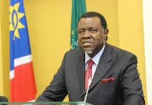 This will be Hage Geingob's second and last term as Namibia president