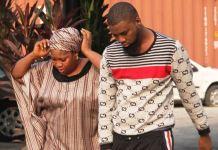 Damilola Ahmed Adeyeri and his mother, Alaba Kareem Adeyeri