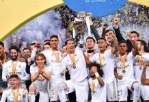 Real Madrid lift the Spanish Super Cup for the first time since 2017
