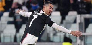Ronaldo's opener took a deflection off former Manchester United defender Matteo Darmian