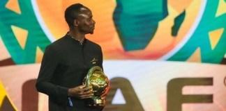 Sadio Mane beat club teammate Mo Salah and Riyad Mahrez to win the CAF African Player of the Year Award