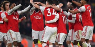 Arsenal players and coaches have taken a pay cut