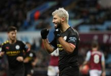 Sergio Aguero scored his 12th EPL hattrick