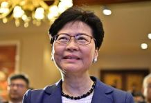 Chief Executive of Hong Kong, Carrie Lam