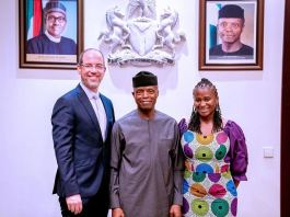 Vice President Yemi Osinbajo, SAN, received a delegation from Google today, led by Doron Avni, Google's Director for Government Affairs and Public Policy in Emerging Markets.