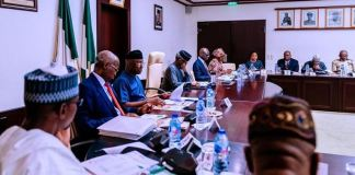 Vice President Yemi Osinbajo chaired the PEBEC meeting at the State House