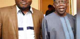 Ayo Ogunsan and Asiwaju Bola Tinubu
