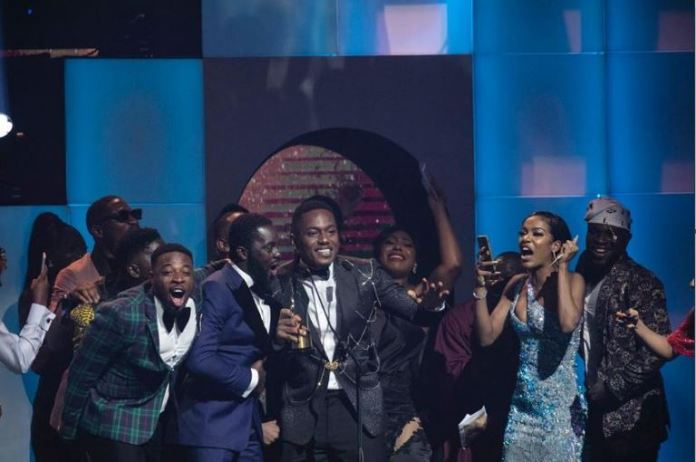 Timini Egbuson wins AMVCA 'Best Actor In A Drama for his role in Elevator Baby