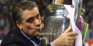Real Madrid won the Champions League twice when Lorenzo Sanz was president
