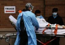 New York City hospitals have reported equipment shortages