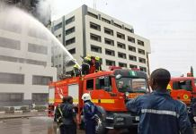 Federal fire fighters in Abuja