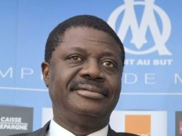 Former Olympic Marseilles boss Pape Diouf