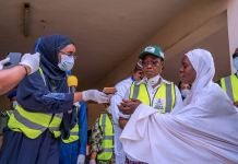 Minister of Humanitarian Affairs, Disaster Management & Social Development, Sadiya Umar Farouq it is at the forefront of the Covid-19 intervention