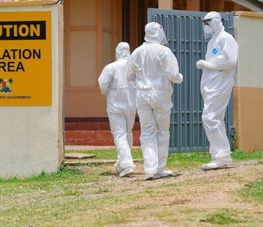 Lagos State coronavirus isolation centre