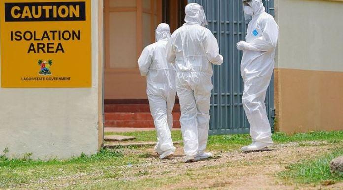 Lagos State coronavirus isolation centre covid-19