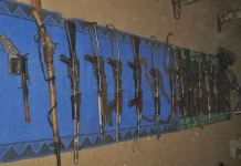Nigerian troops have recovered arms from killed bandits in Zamfara