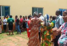 Some beneficiaries of the Conditional Cash Transfer scheme in Imo state. Photo: Tracka