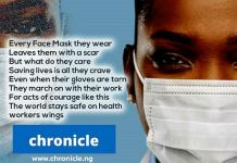 Chronicle NG praises health workers