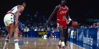 Michael Jordan won six NBA titles and was a five-time NBA MVP