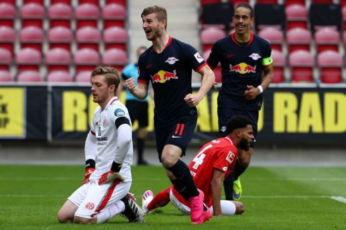 Timo Werner has scored his third hat-trick of the season