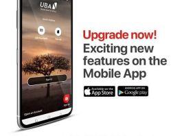 UBA mobile app has been upgraded