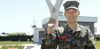 Son Heung-min earns South Korea Military accolades