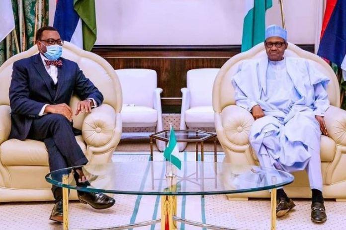 President Muhammadu Buhari backed Akinwumi Adesina on probe allegations