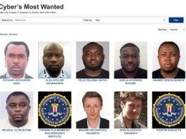 FBI asks for tips to help them nab six Nigerian nationals involved in email scam