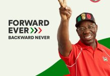 Governor Godwin Obaseki has been reelected for a second term in office