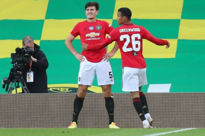 Harry Maguire scored a late goal winner as Manchester United beat Norwich to progress in the FA Cup