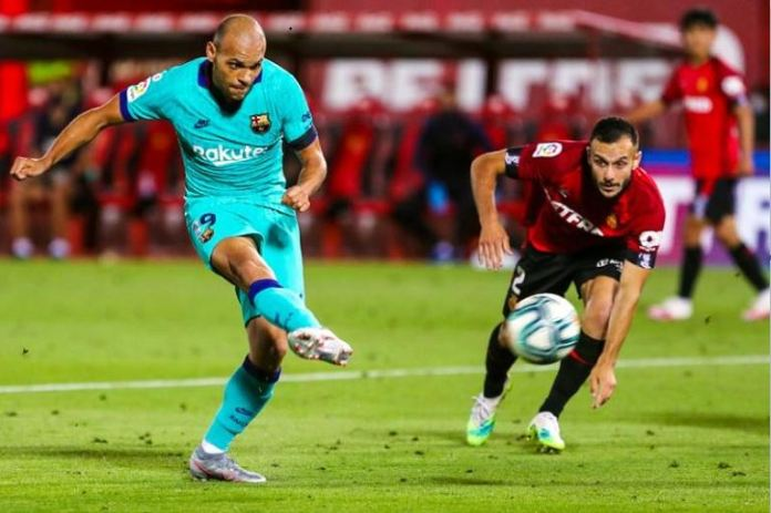 Martin Braithwaite is the third Danish player to score a La Liga goal for Barcelona, after Allan Simonsen and Michael Laudrup
