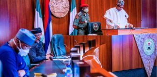 President Muhammadu Buhari launched the massive AKK gas pipeline project