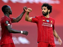 Mohamed Salah opened scoring for Liverpool against Wolves DStv GOtv