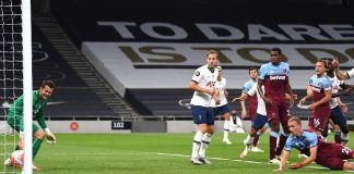 West Ham's Tomas Soucek put the ball into his own net
