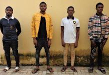 Franklin Ibeh, Obi Odinaka, Shamgar Ifejindu and Meze Michael