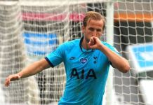Harry Kane reached 200 club goals for Tottenham