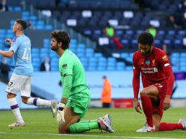 Manchester City thrashed Premier League champions Liverpool 5-0