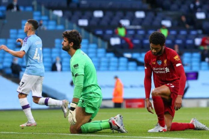 Manchester City thrashed Premier League champions Liverpool 5-0