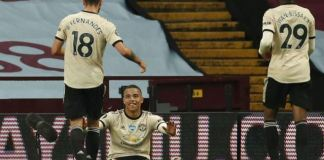 Mason Greenwood became the fourth player aged 18 or younger to score in three consecutive Premier League games