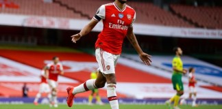 Pierre-Emerick Aubameyang's double fired Arsenal to seventh