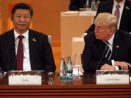 President Xi Jinping of China and President Donald Trump of the US