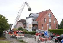 Three people died after a small aircraft crashed into a building in Wesel, Germany