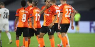Brazilian midfielder Taison scored one and made another as Shakhtar Donetsk beat FC Basel