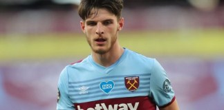 Frank Lampard wants to sign Declan Rice from West Ham