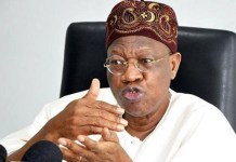 Alhaji Lai Mohammed, Nigeria Information Minister increased hate speech penalty from N500,000 to N5 million nbc infrastructure buhari fake news dj switch