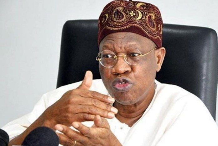 Alhaji Lai Mohammed, Nigeria Information Minister increased hate speech penalty from N500,000 to N5 million nbc infrastructure buhari