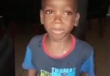 Oreofeoluwa Lawal-Babalola telling his Mum to calm down